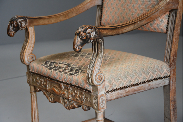 French Renaissance style chair