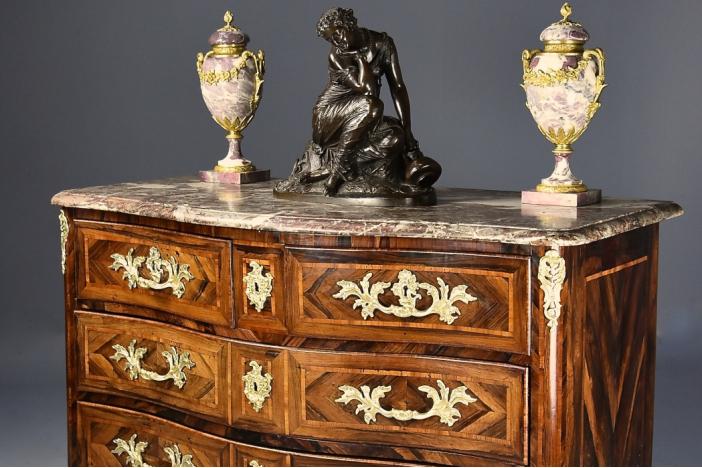 Gustavian Style Bureau