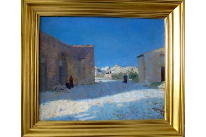 """""""Street in Arles"""" painting"""