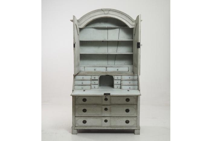 Two-part bureau, circa 1750.