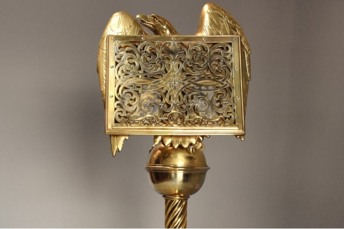 Gothic revival eagle lectern