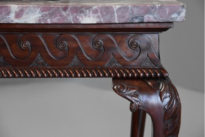Georgian style mahogany table