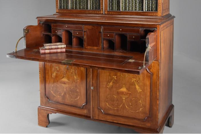 Sheraton secretaire bookcase