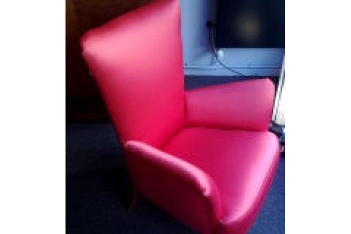 Pair of art-deco armchairs