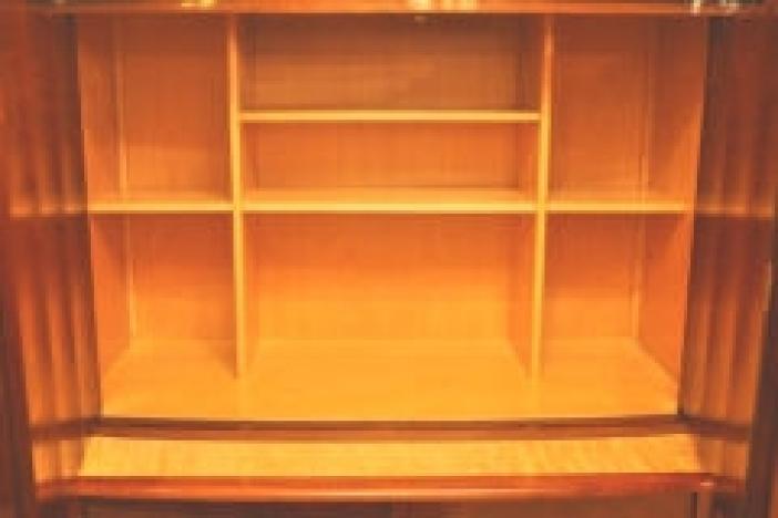 Art-deco bookcase