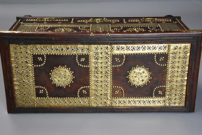 19thc Zanzibar traders chest