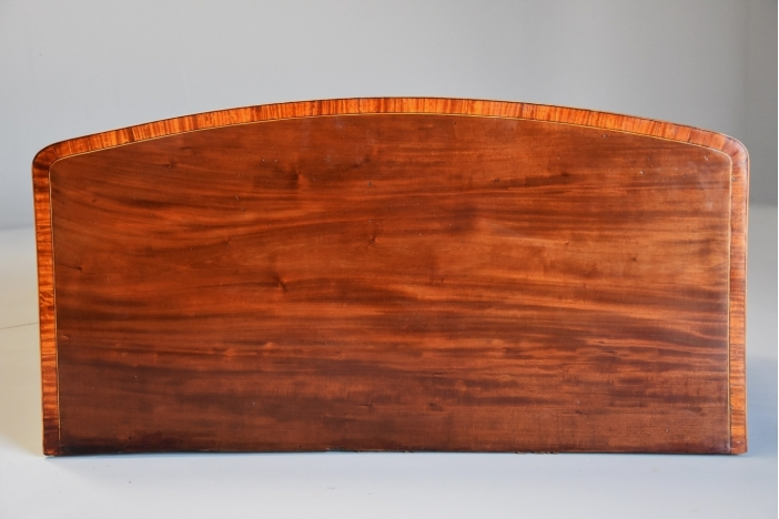 Mahogany & satinwood chest