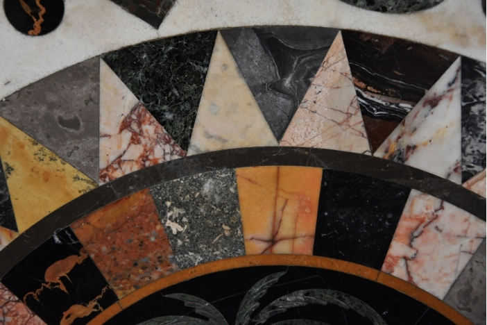 Pietre dure marble table