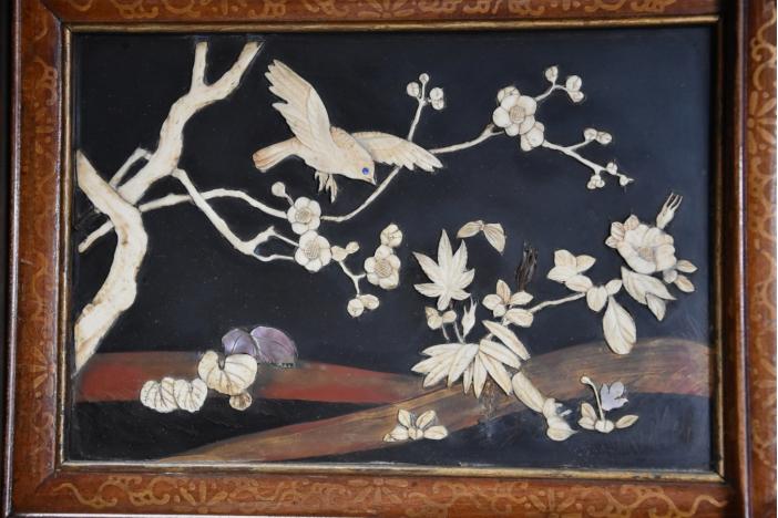 Large Japanese Meiji shodana