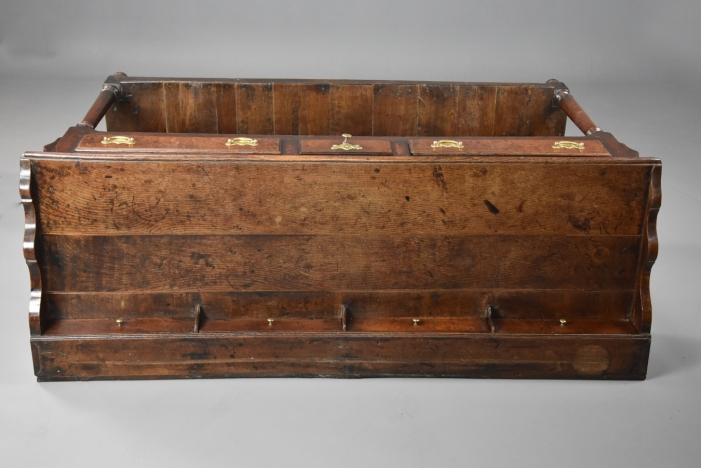 18thc oak potboard dresser