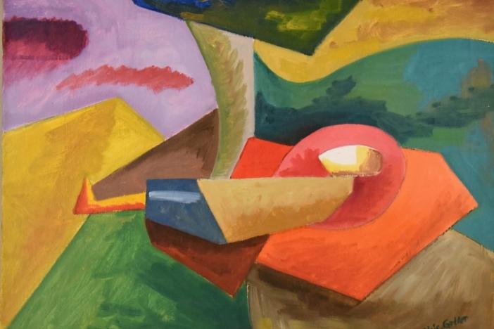 Painting landscape 1949