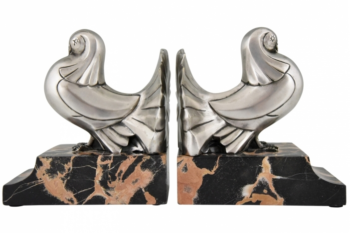 Art Deco bookends Scribe