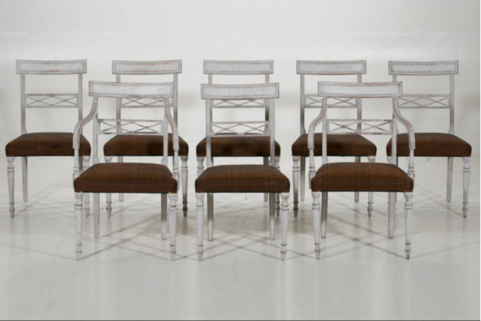 Swedish chairs, 19th C.