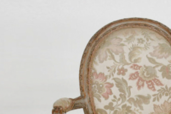 Four French chairs, 20th C.