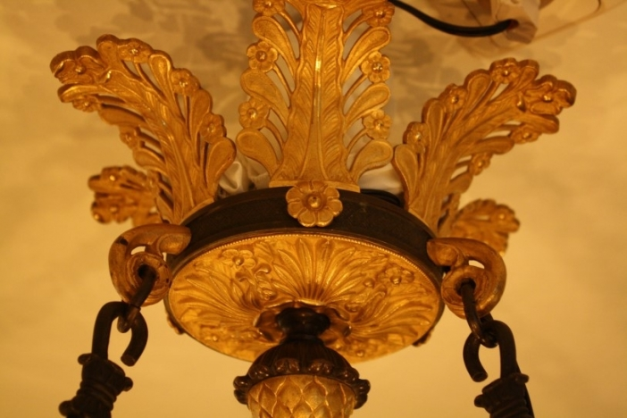 Pair of Charles X chandeliers