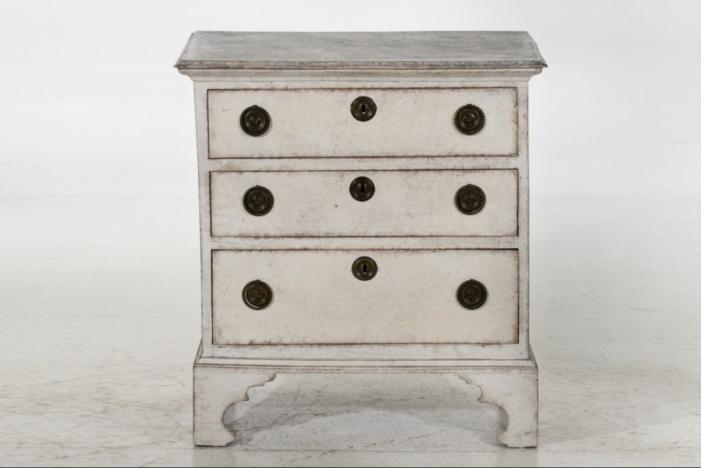 Scandinavian chest, circa 1760