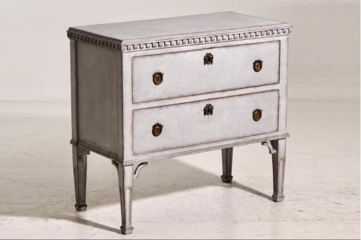 Gustavian chest, 18th C