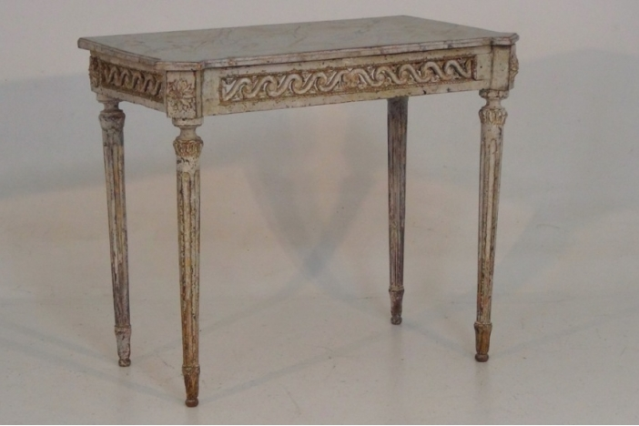 Italian console table