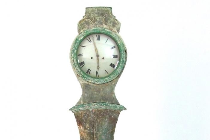 Swedish Rococo Clock