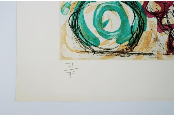 Malcolm Morley print