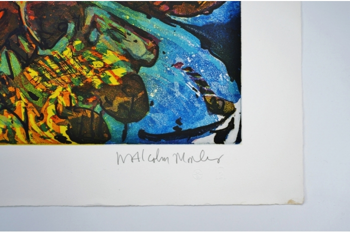 Aegean Crime, Malcolm Morley