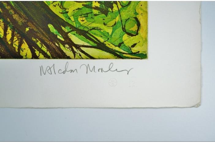 Leopards, Malcolm Morley