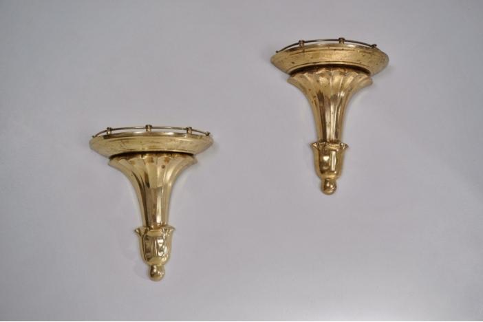 Bronze wall brackets