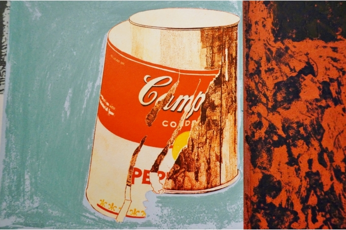 IRWIN print `Campbell Soup`