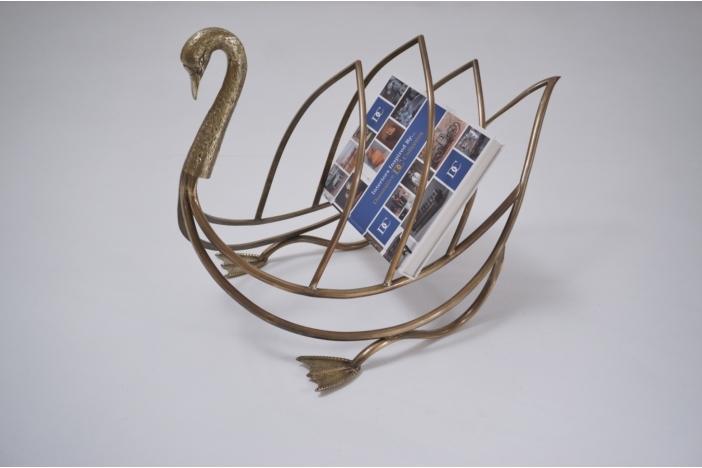 Swan magazine rack