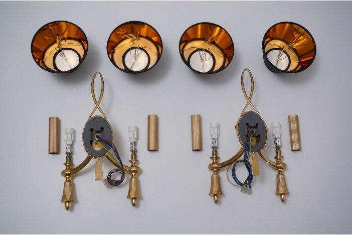Sciolari wall lights