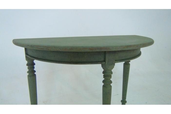 Swedish demi-lune tables