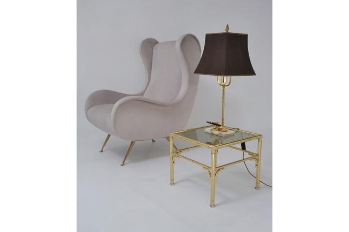 Art Deco dog lamp