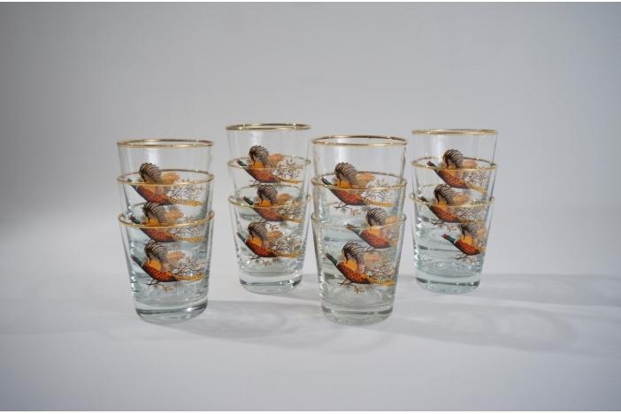 Retro whisky glasses