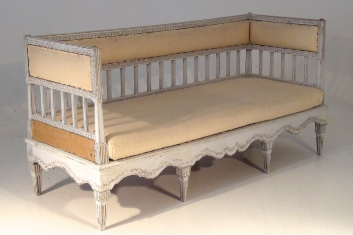 Very Rare Gustavian Sofa, 1785