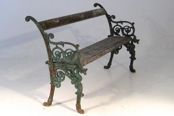 English / Italian Garden Bench