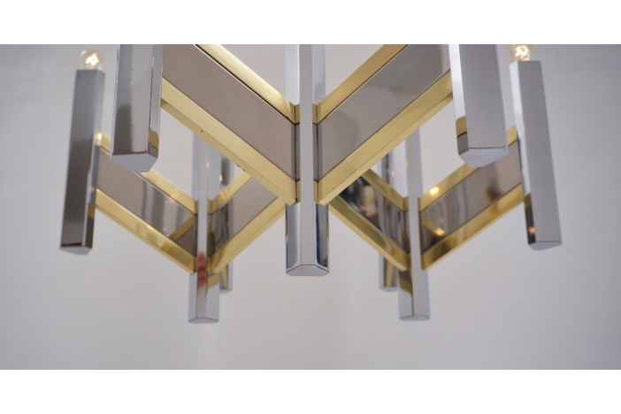 Sciolari chandelier `Chevron`