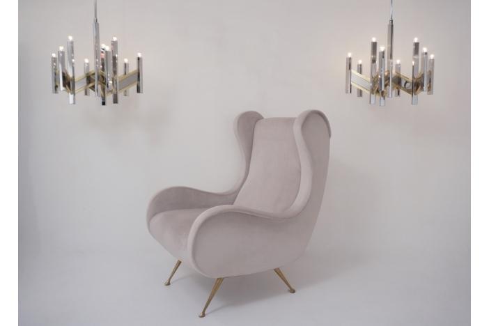 Pair Sciolari chandeliers