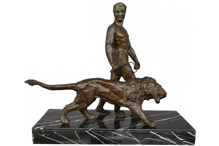 Lion tamer by Decoux