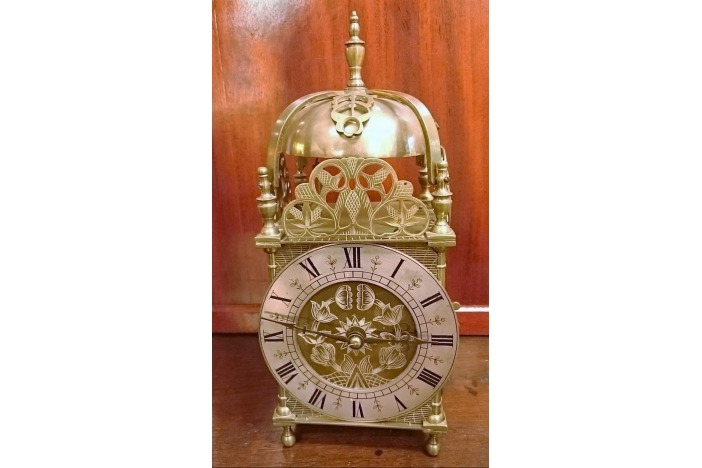 Edwardian Lantern Clock