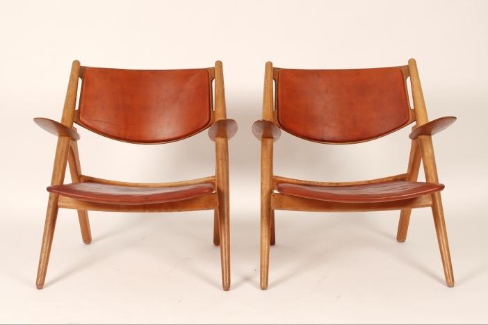 Hans J. Wegner Sawback Chairs