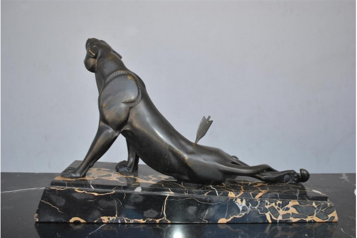 Art deco Panther by Carvin