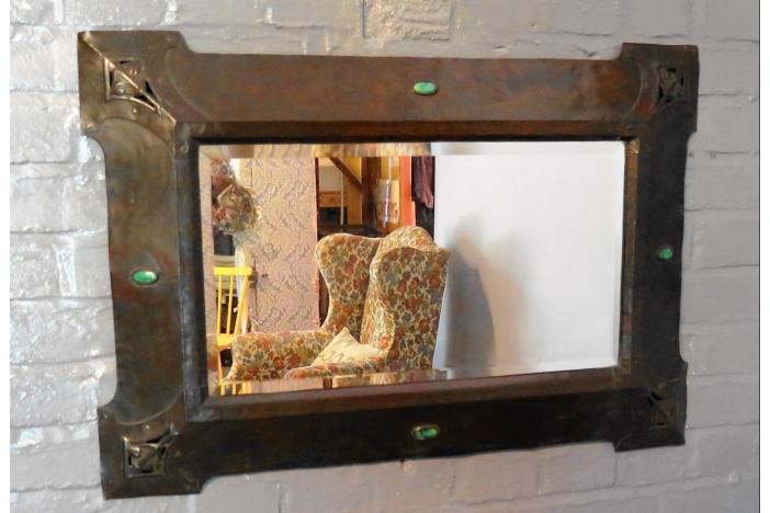 Arts Crafts Mirror