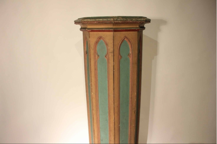 19th Painted Column