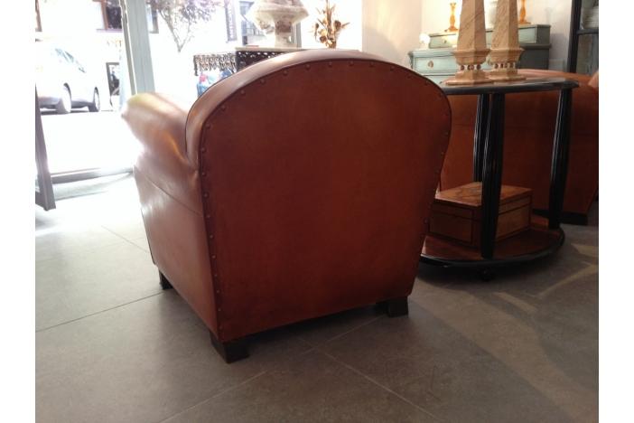 Leather Club Armchair