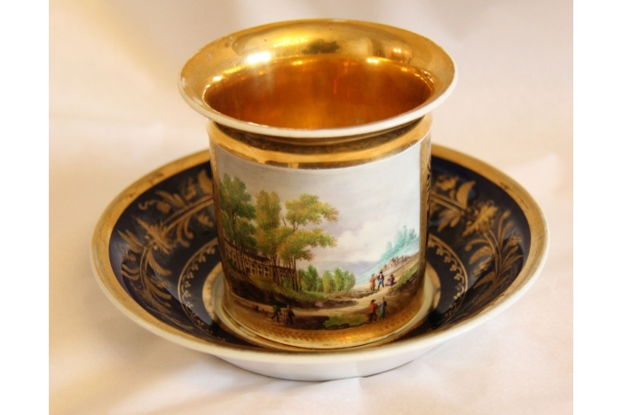 A 19th C. Russian Porcelain