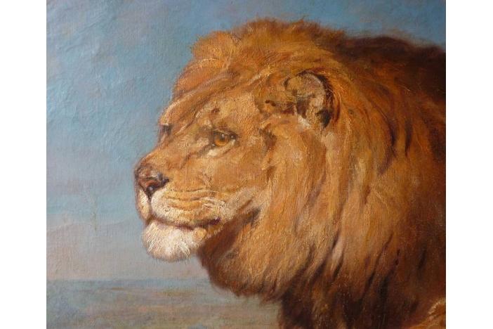 Lions, 1903, by H. J. Koenig