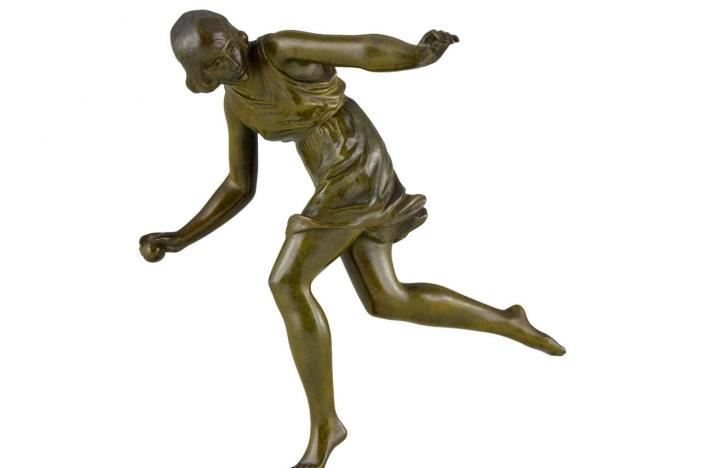 Art Deco bronze Le Faguays