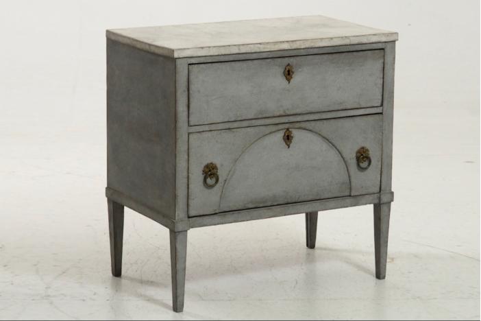 Gustavian chest, circa 1820