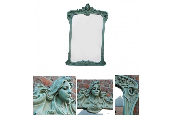 Art Nouveau mirror