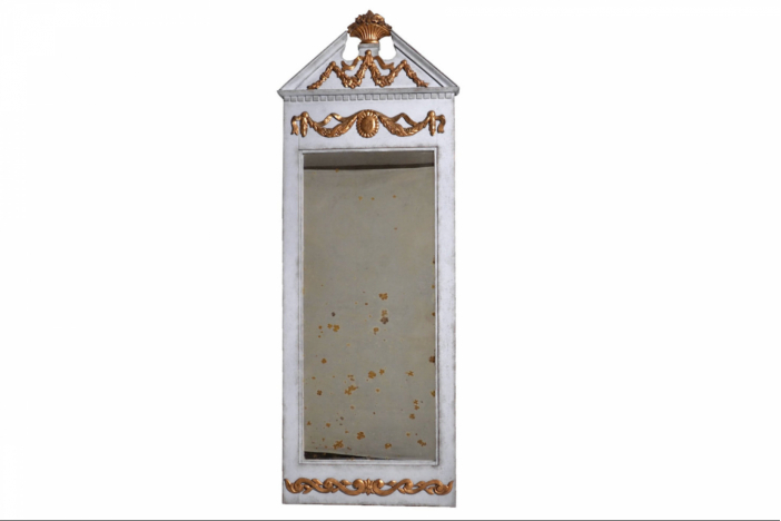 Fine Gustavian mirror, 1780.